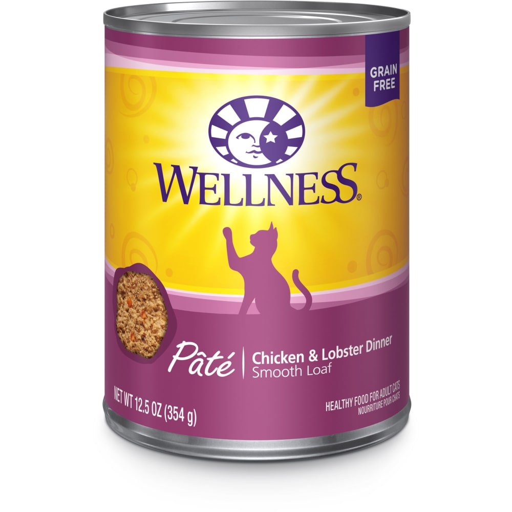 Wellness - Chicken & Lobster Formula Grain-Free Canned Cat Food