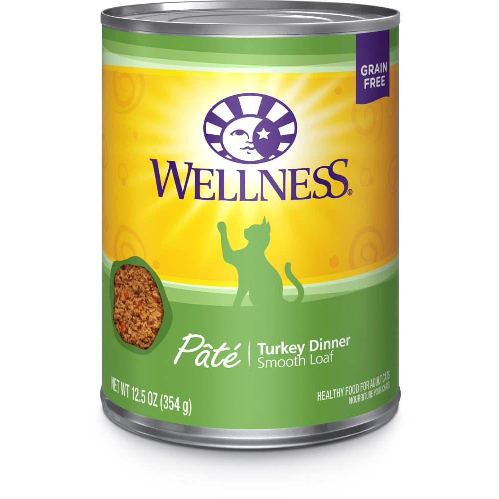 Wellness - Turkey Dinner Grain-Free Canned Cat Food