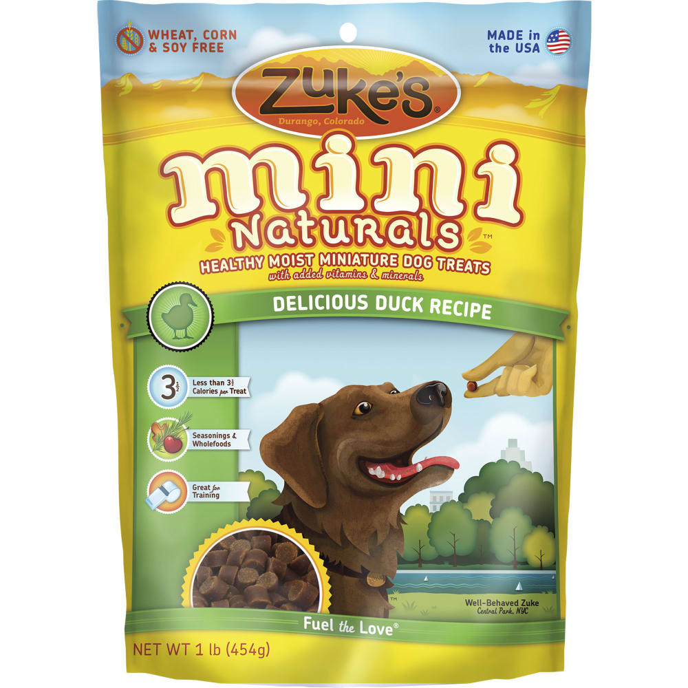 Zuke's - Mini Naturals Delicious Duck Recipe Dog Treat