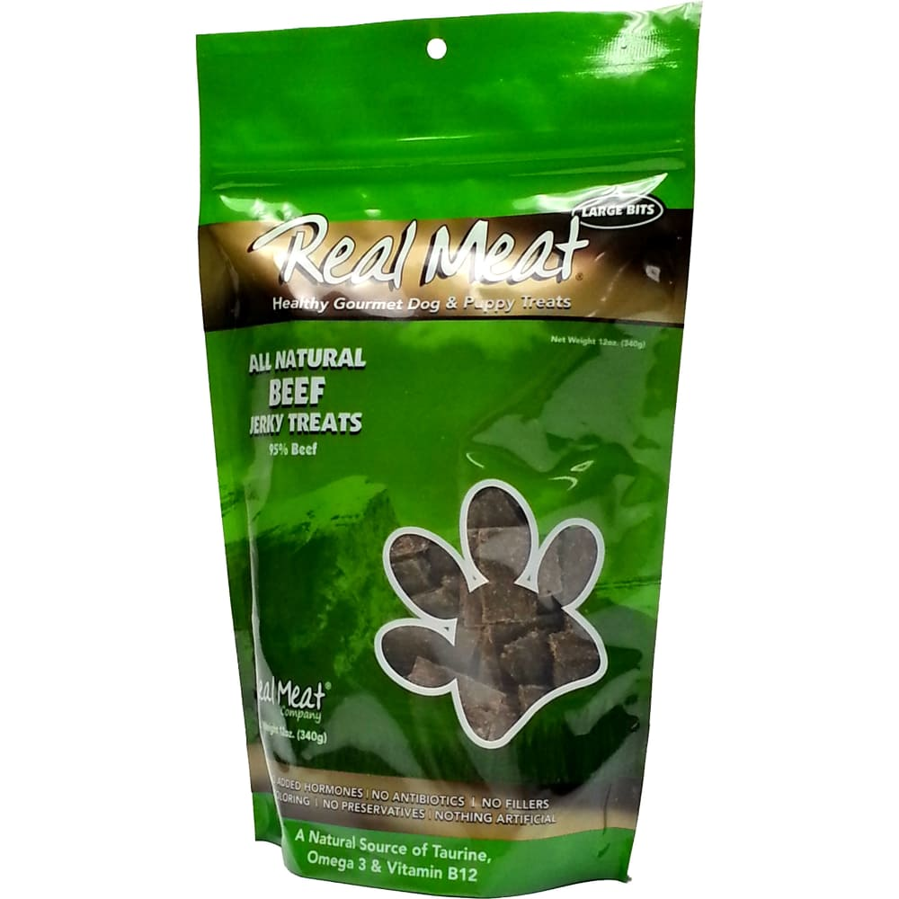 The Real Meat Company - Beef Jerky Grain-Free Dog Treats