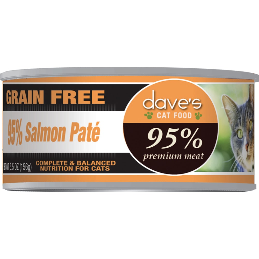 Dave's Pet Food - 95% Salmon Pate Grain-Free Canned Cat Food