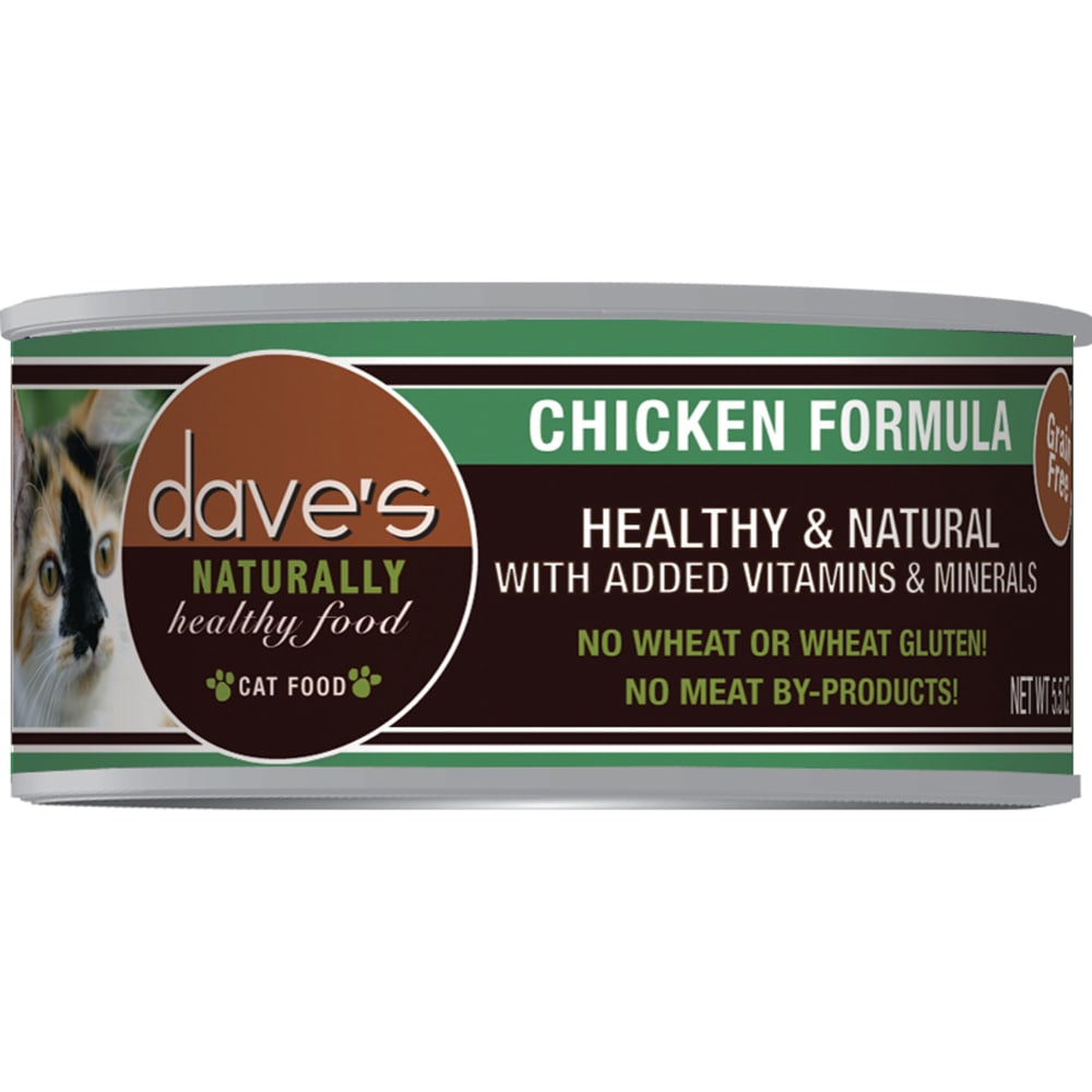 Dave's Pet Food - Naturally Healthy Chicken Formula Grain-Free Canned Cat Food