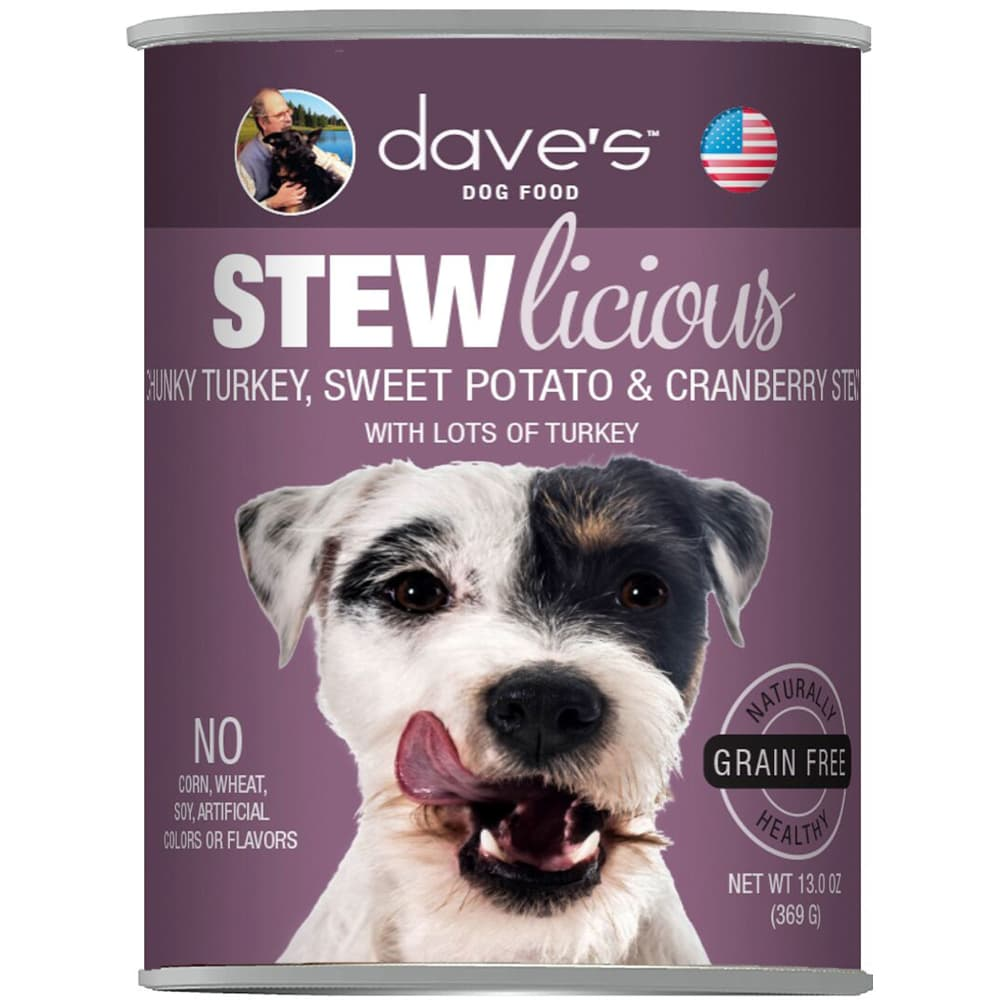 Dave's Pet Food - STEWlicious Chunky Turkey