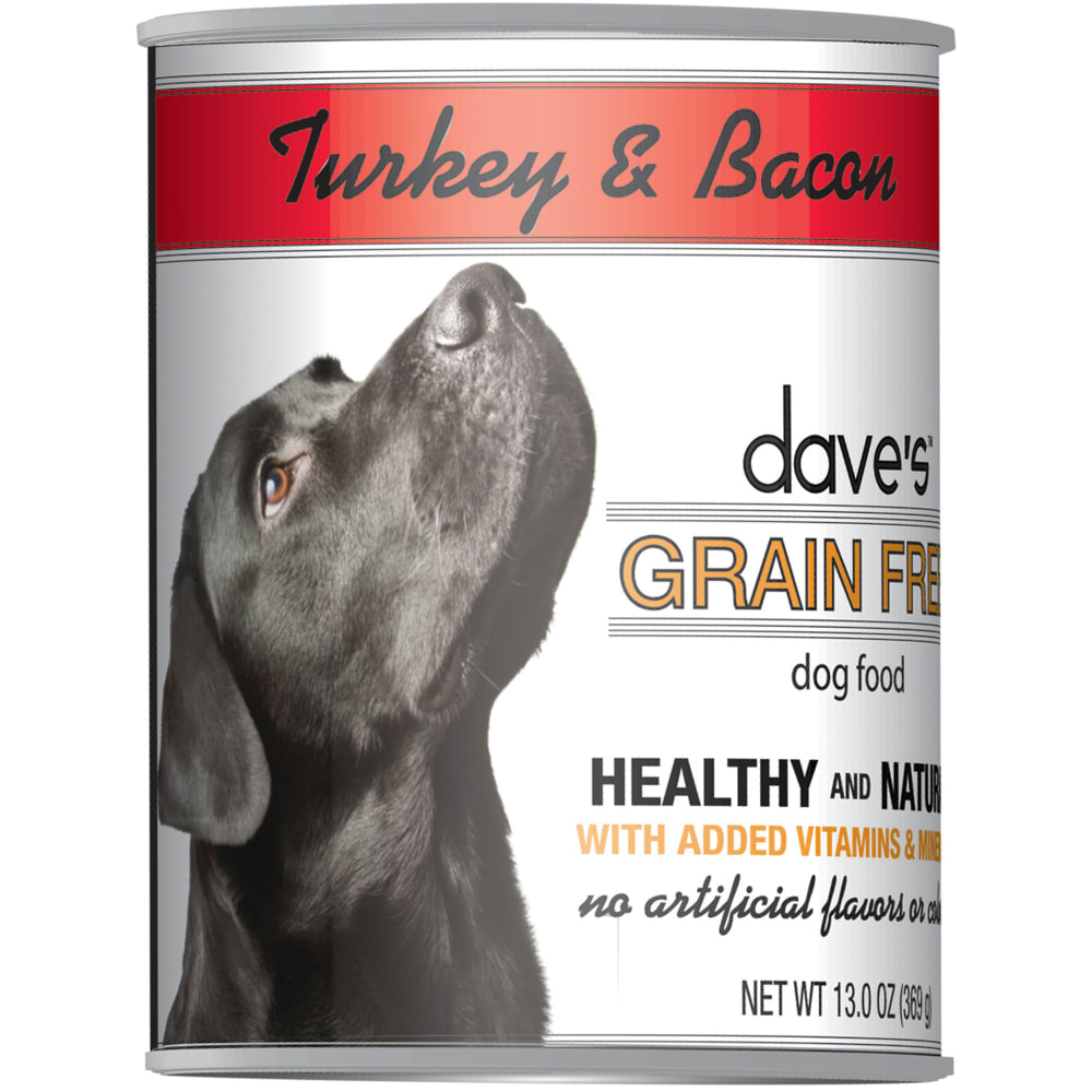 Dave's Pet Food - Turkey & Bacon Grain-Free Canned Dog Food
