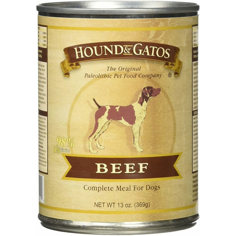 Hound And Gatos - Beef Grain-Free Canned Dog Food