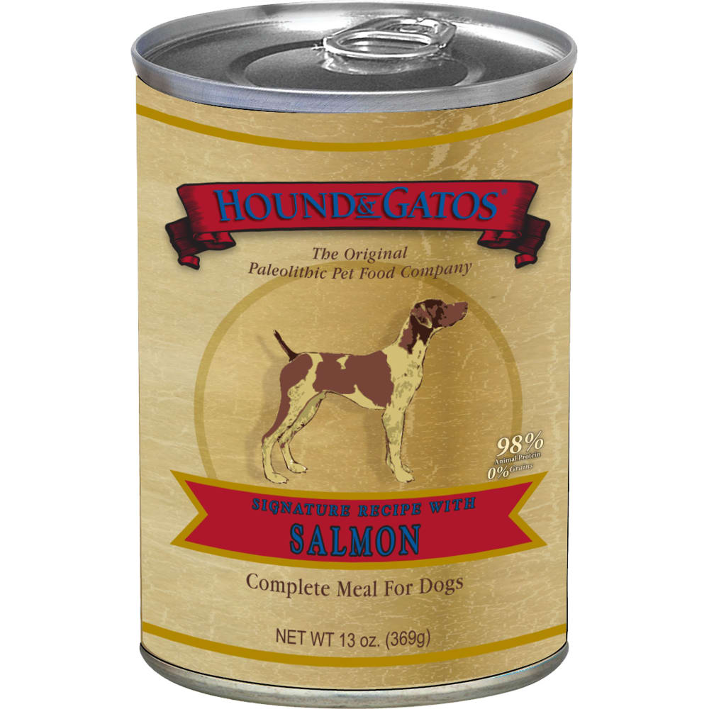 Hound And Gatos - Salmon Grain-Free Canned Dog Food
