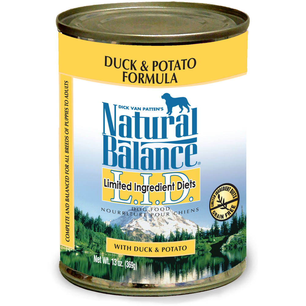 Natural Balance - Limited Ingredient Diets Duck & Potato Formula Grain-Free Canned Dog Food