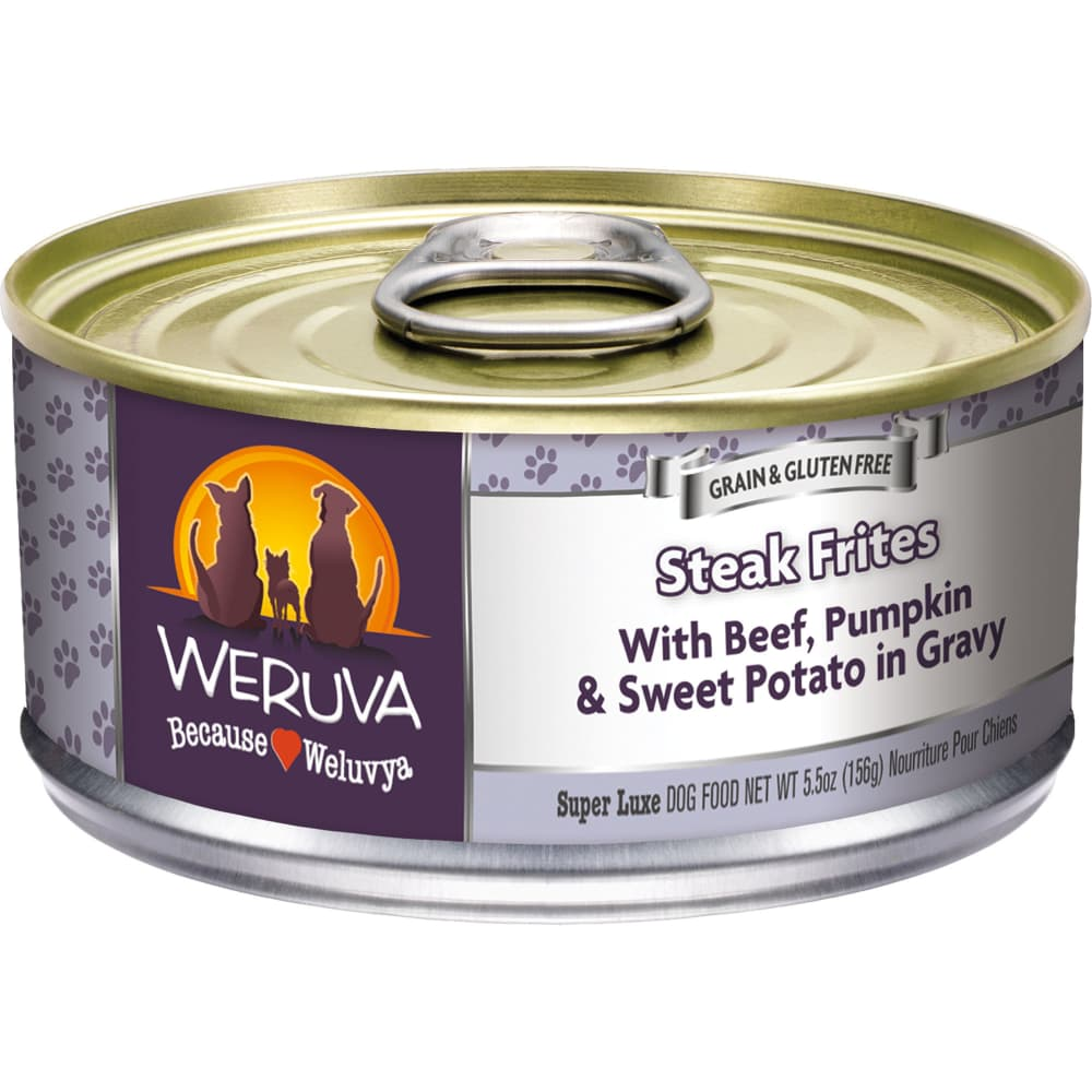 Weruva - Steak Frites Grain-Free Canned Dog Food