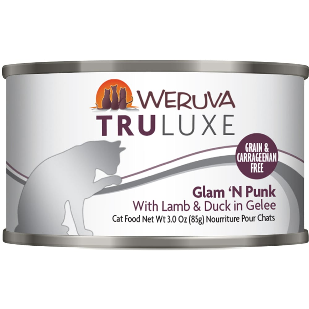 Weruva - TruLuxe Glam 'N Punk With Lamb & Duck In Gelee Grain-Free Canned Cat Food