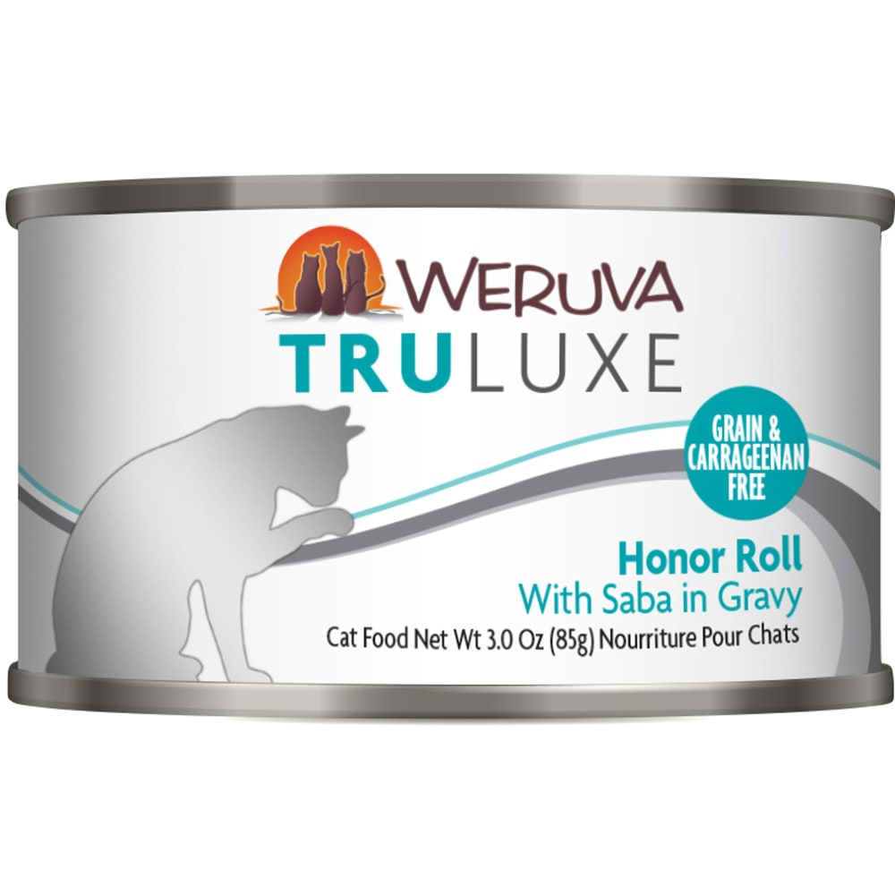 Weruva - TruLuxe Honor Roll With Saba In Gravy Grain-Free Canned Cat Food