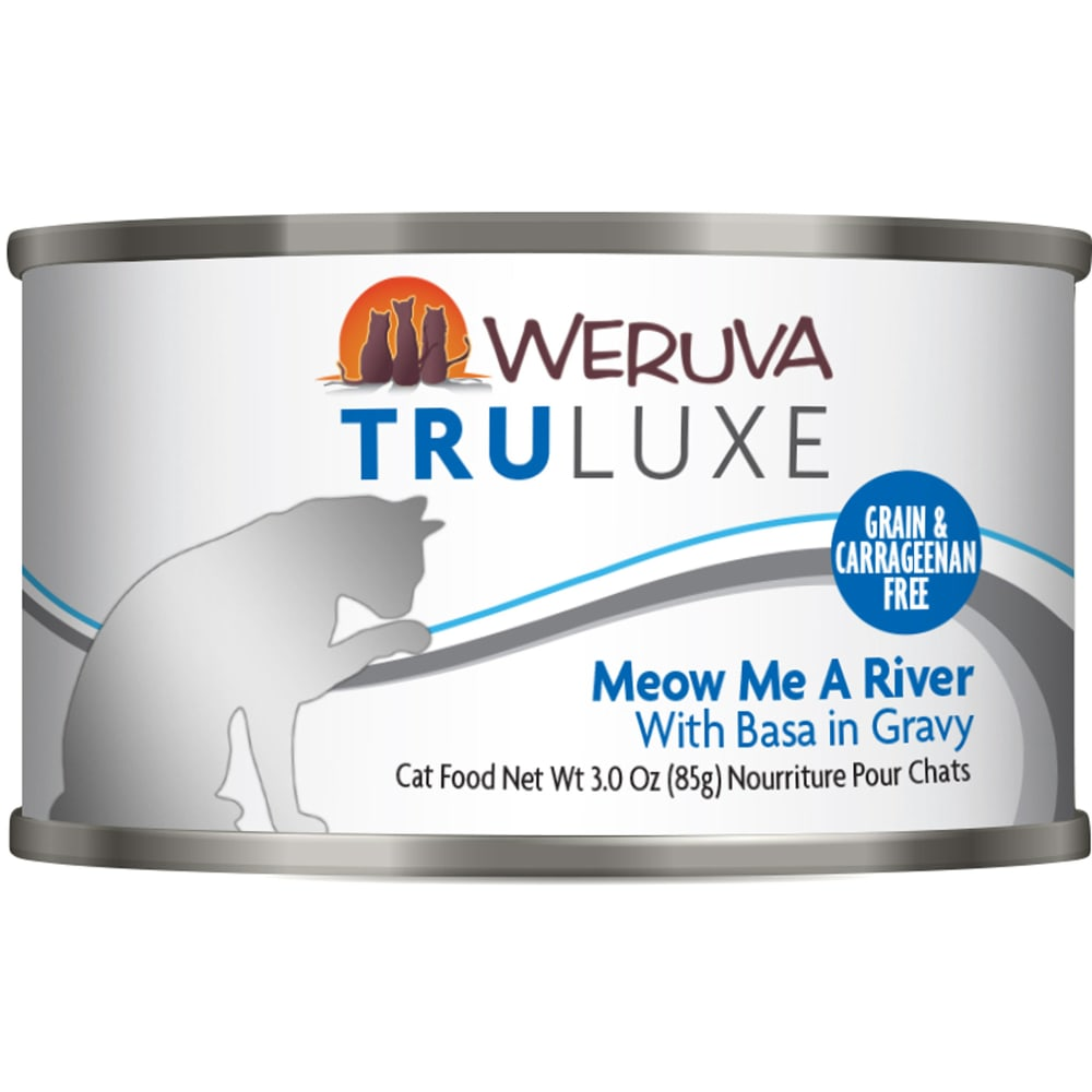 Weruva - TruLuxe Meow Me A River With Basa In Gravy Grain-Free Canned Cat Food