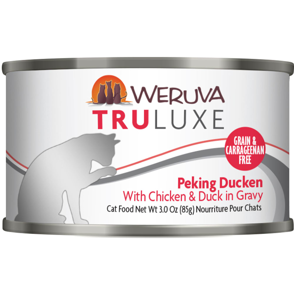 Weruva - TruLuxe Peking Ducken With Chicken & Duck In Gravy Grain-Free Canned Cat Food