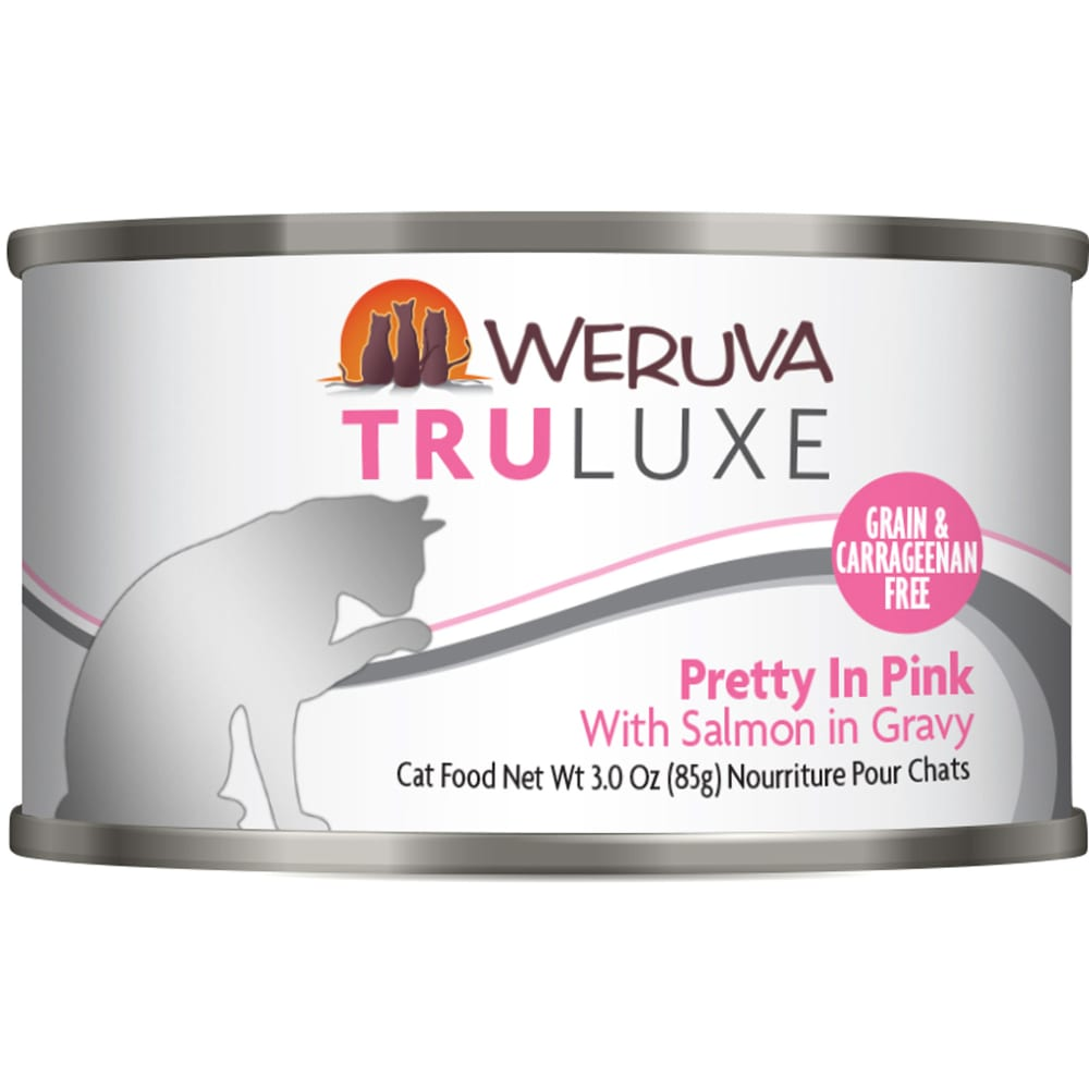 Weruva - TruLuxe Pretty In Pink With Salmon In Gravy Grain-Free Canned Cat Food