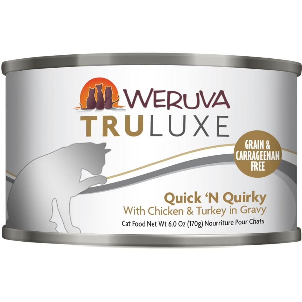 Weruva - TruLuxe Quick 'N Quirky With Chicken In Gravy Grain-Free Canned Cat Food