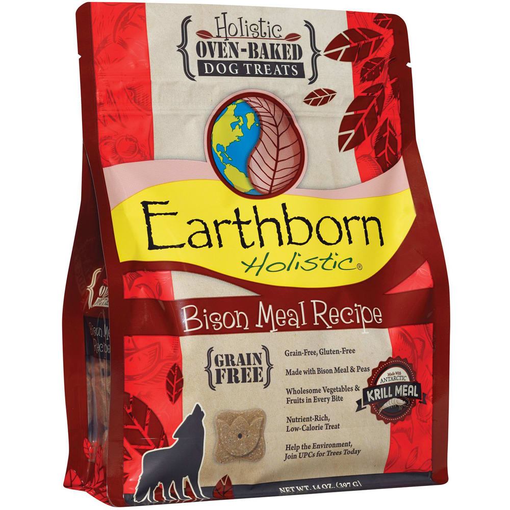 Earthborn - Bison Meal Recipe Grain-Free Dog Treats, 2lb