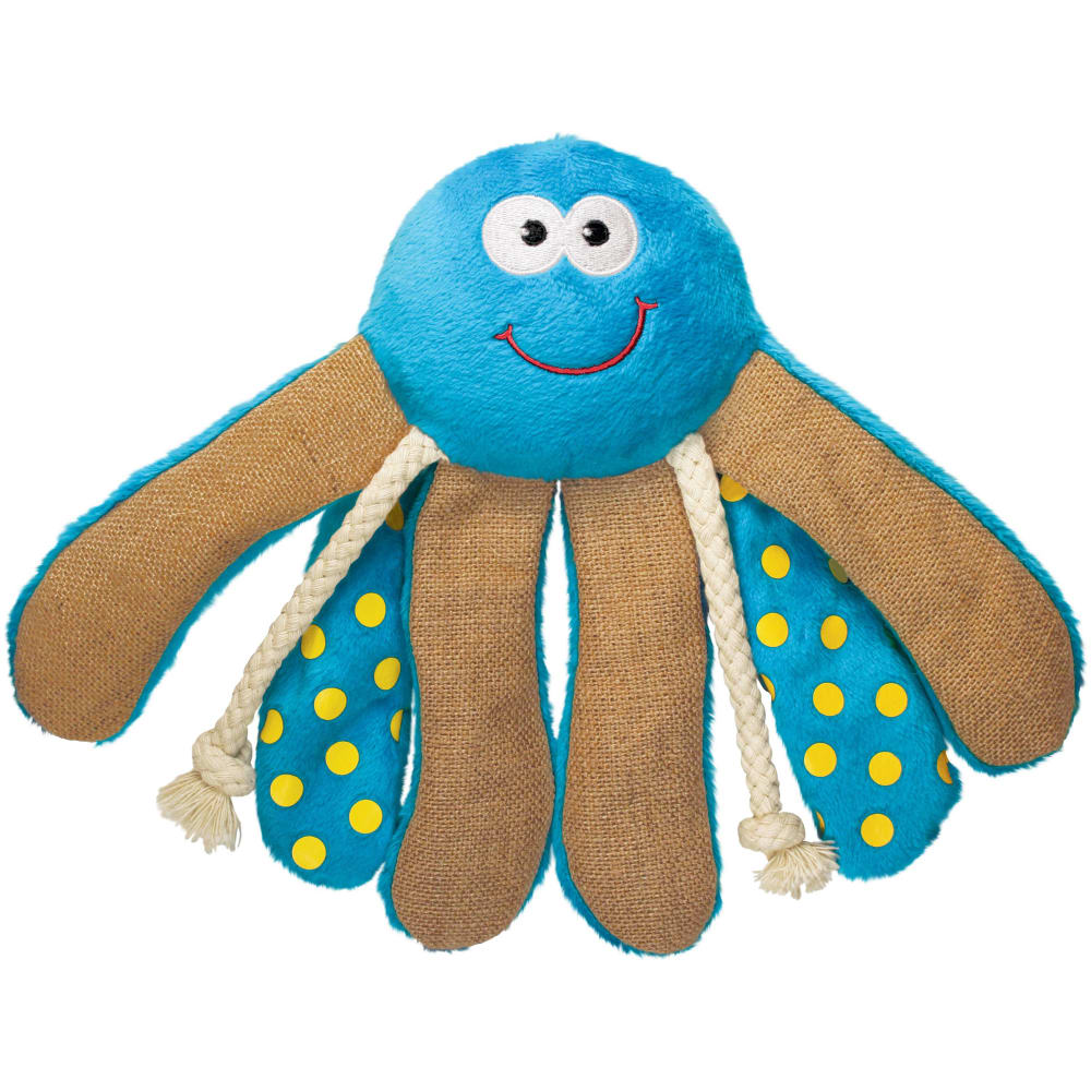 Kong - Giggles Octopus Large Dog Toy