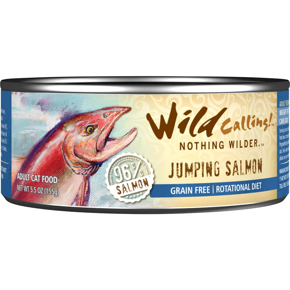 Wild Calling - Jumping Salmon Grain-Free Canned Cat Food