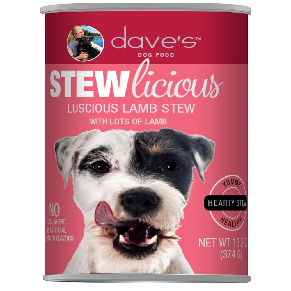 Dave's Pet Food - STEWlicious Luscious Lamb Stew Grain-Free Canned Dog Food