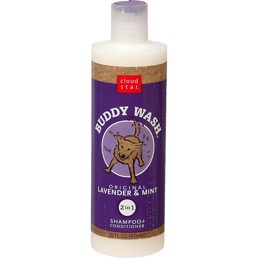 Buddy Wash Original Lavendar & Mint 2 In 1 Dog Shampoo & Conditioner, 16oz