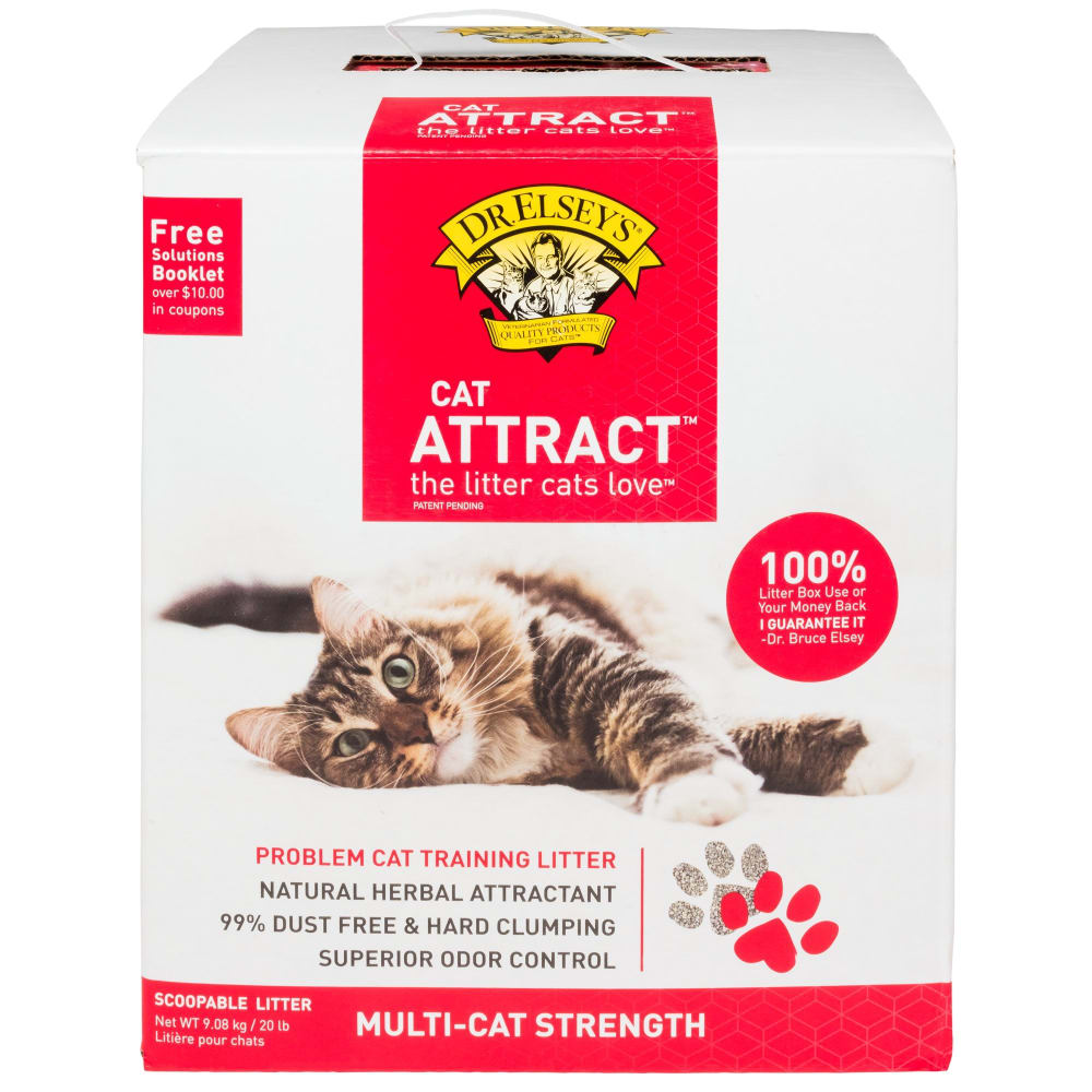 Dr. Elsey's - Cat Attract Problem Cat Training Hard Clumping Cat Litter