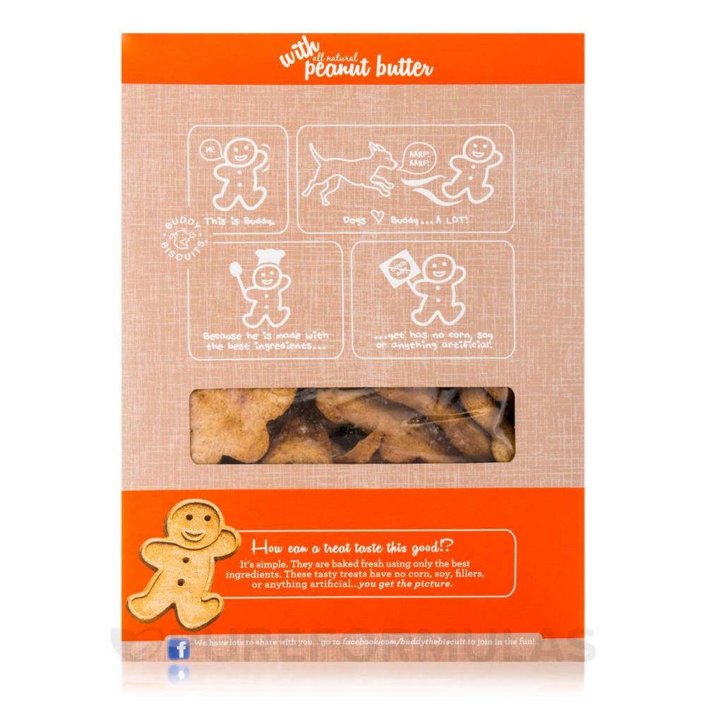 Cloud Star - Crunchy Oven Baked All Natural Peanut Butter Dog Treats, 16oz