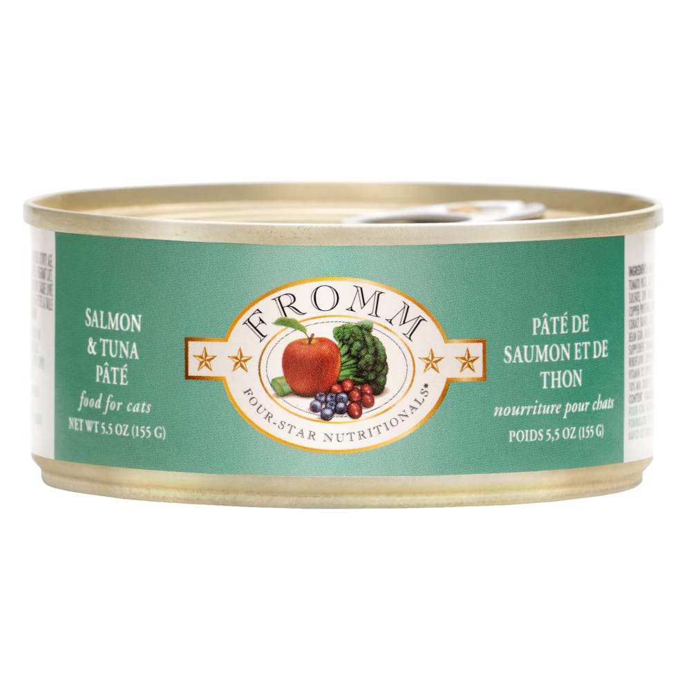 Fromm - Four Star Salmon And Tuna Pate Canned Cat Food, 5.5oz