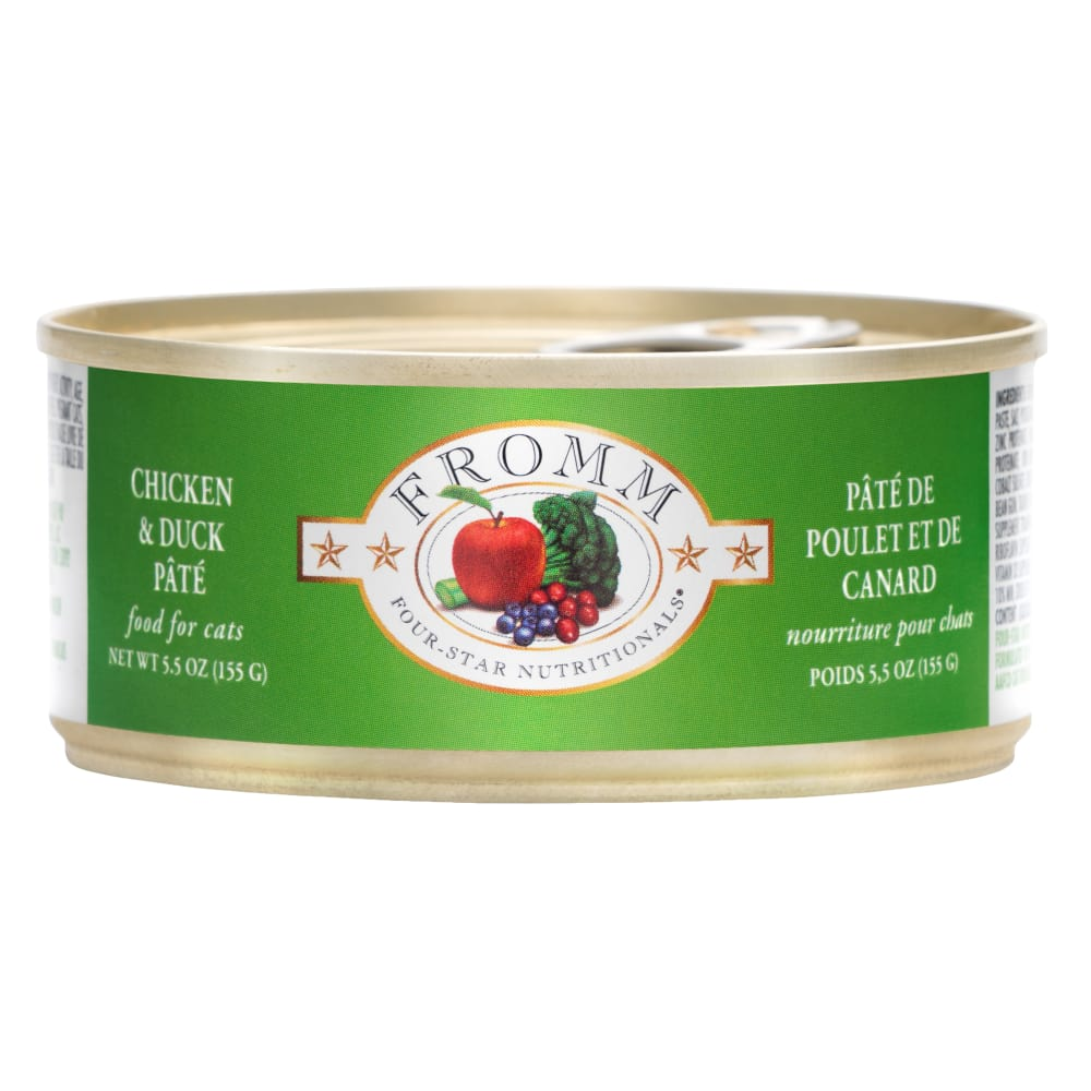Fromm - Four Star Duck And Chicken Pate Canned Cat Food, 5.5oz