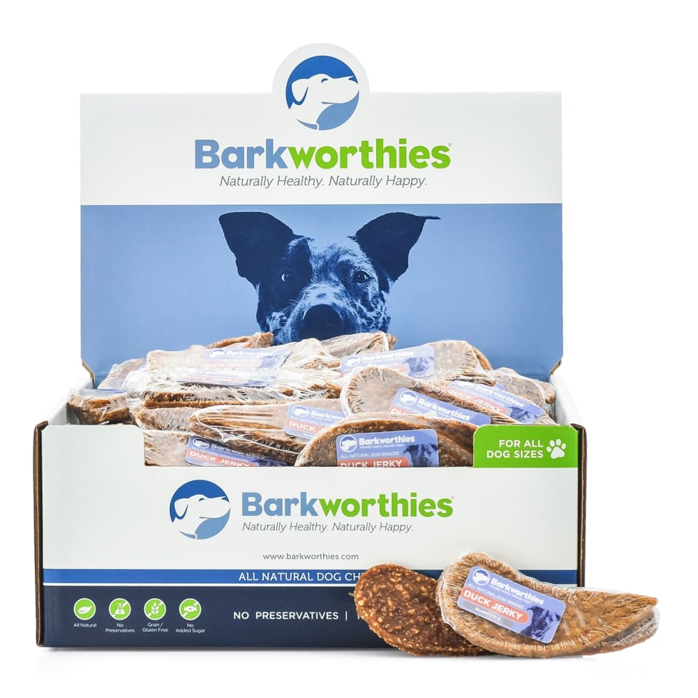 Barkworthies - Duck Jerky Shrink Wrap