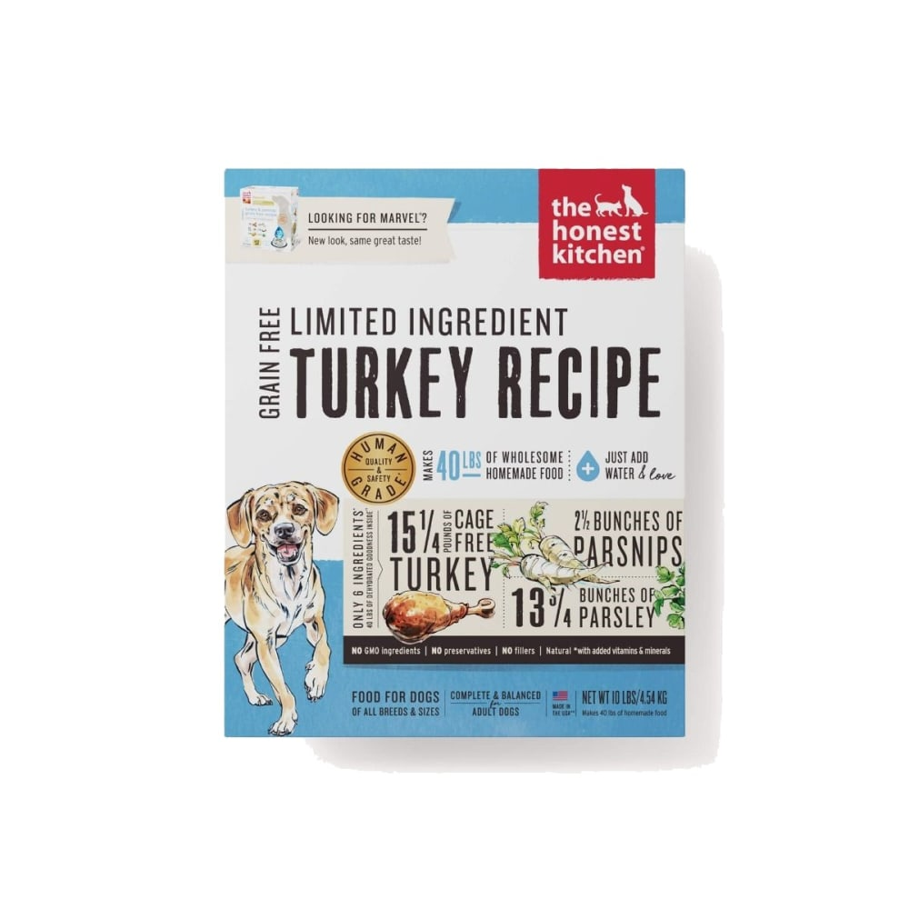 Honest Kitchen   Marvel Grain Free Turkey U0026 Parsnip Dog Food, 10lbs