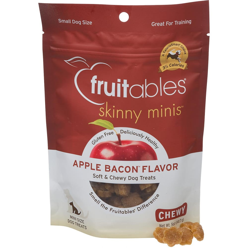 Fruitables - Skinny Minis Apple & Bacon Soft & Chewy Dog Treats