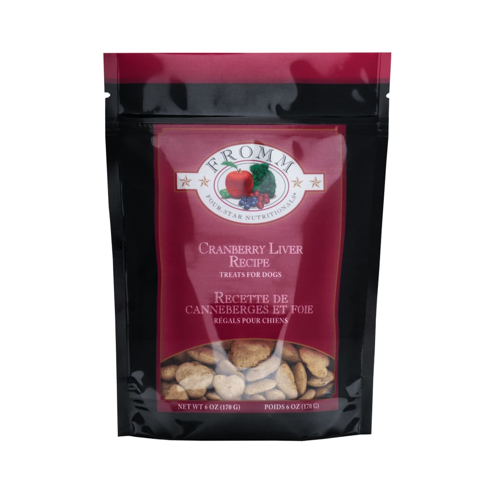 Fromm - Four Star Cranberry Liver Training Dog Treats, 6oz
