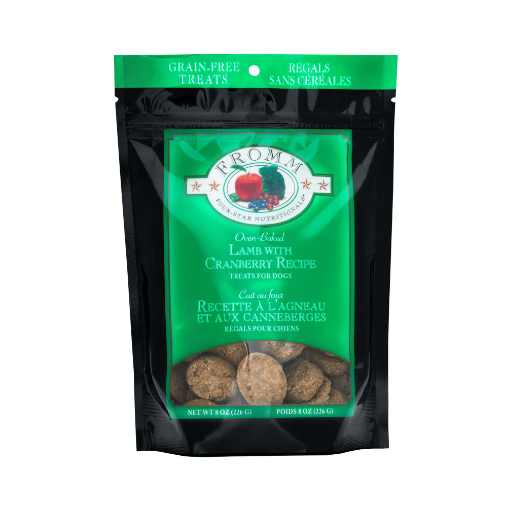 Fromm - Four Star Lamb With Cranberries Dog Treats, 8oz