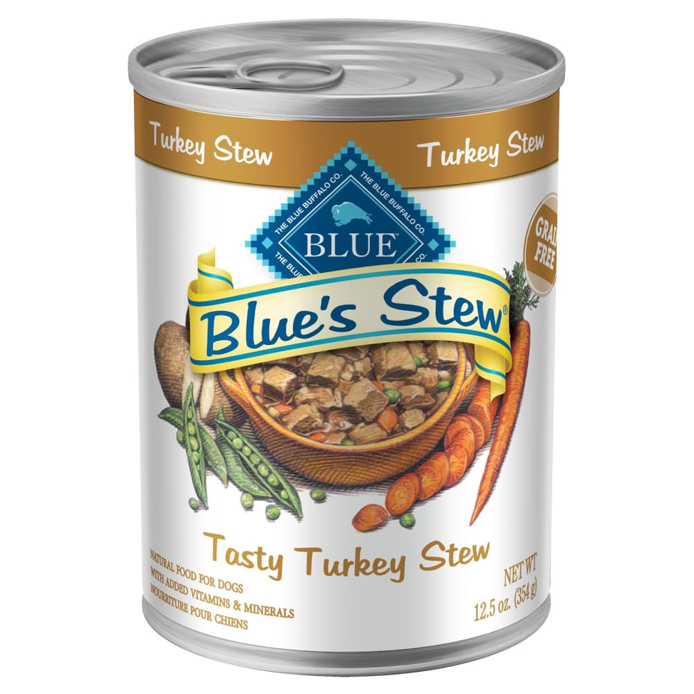 Blue Buffalo - Blue's Stew Tasty Turkey Stew Canned Dog Food