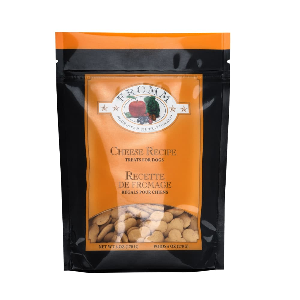 Fromm - Four-Star Cheese Recipe Dog Treats, 6oz