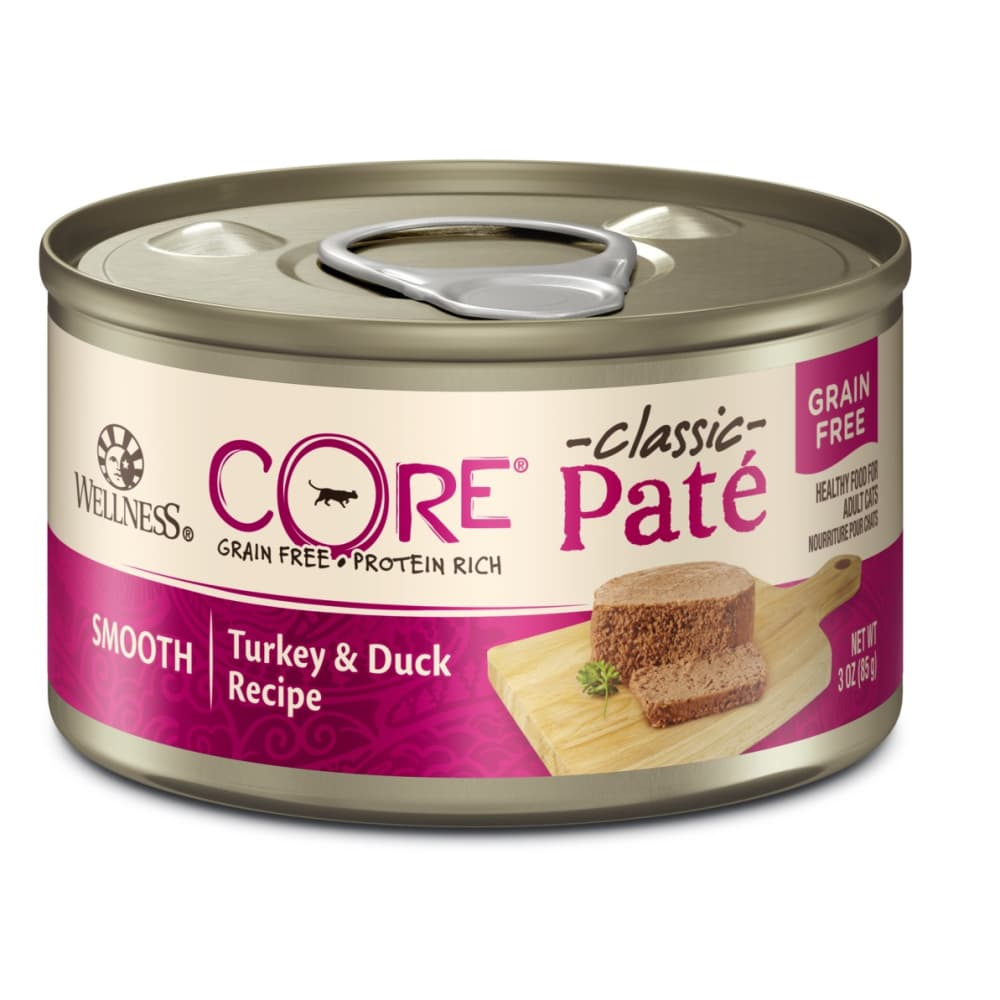 Wellness - Core Grain-Free Turkey & Duck Formula Canned Cat Food, 5.5oz