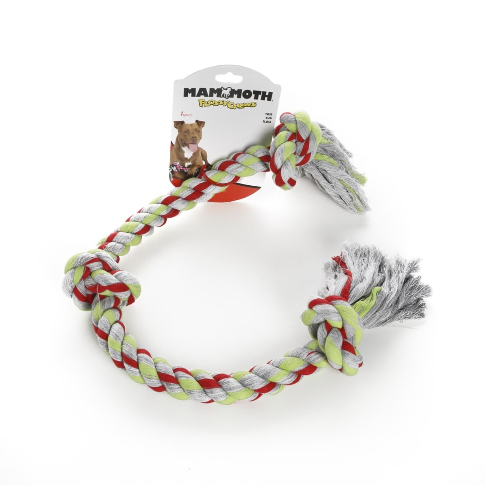Mammoth - 3 Knot Colored Rope Cotton