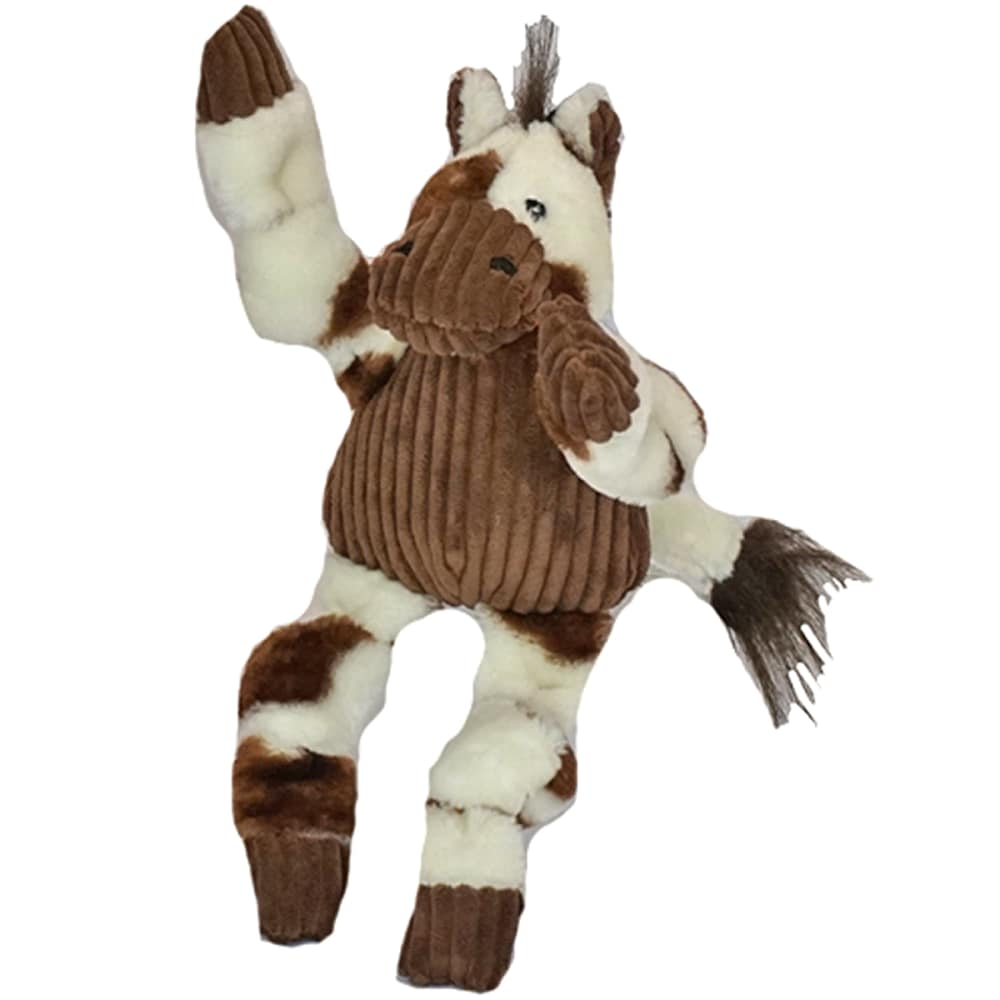 HuggleHounds - Plush Corduroy Durable Pony Knotties