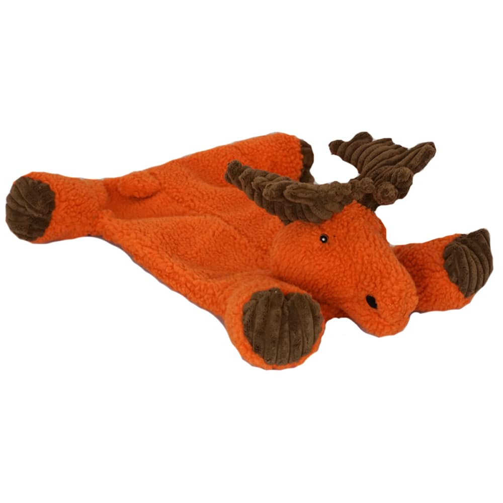HuggleHounds - Durable Tuffut Flatties Moose