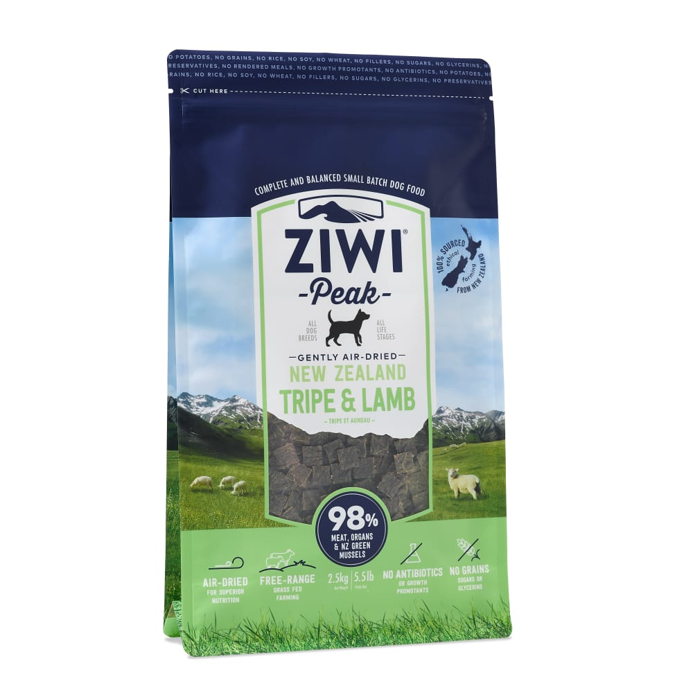 Ziwi Peak - Air-Dried Tripe & Lamb Dog Food