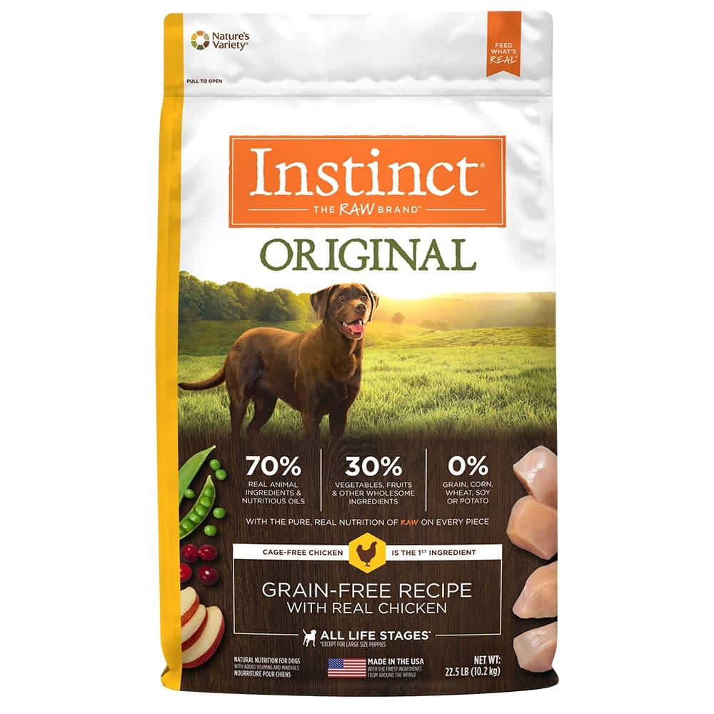Nature's Variety - Instinct Original Real Chicken Formula Grain-Free Dry Dog Food