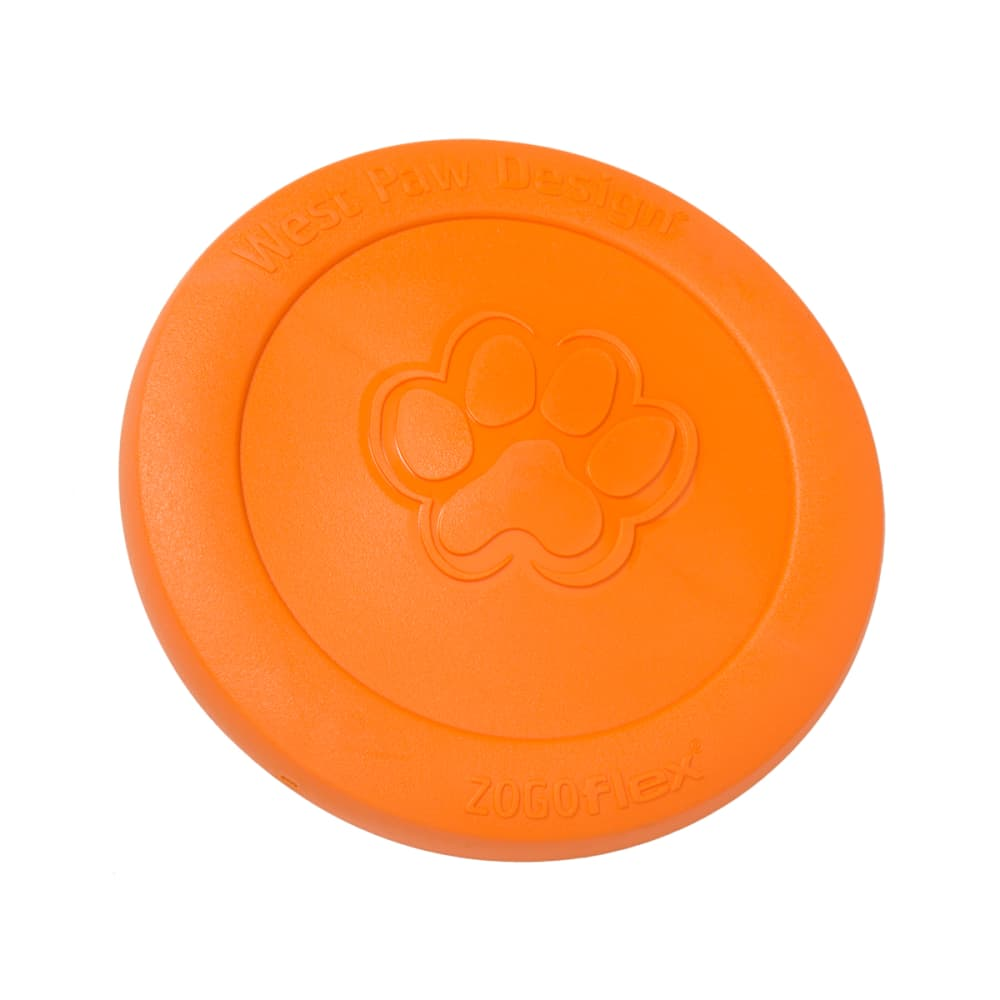 West Paw - Zisc Flying Disc Tangerine
