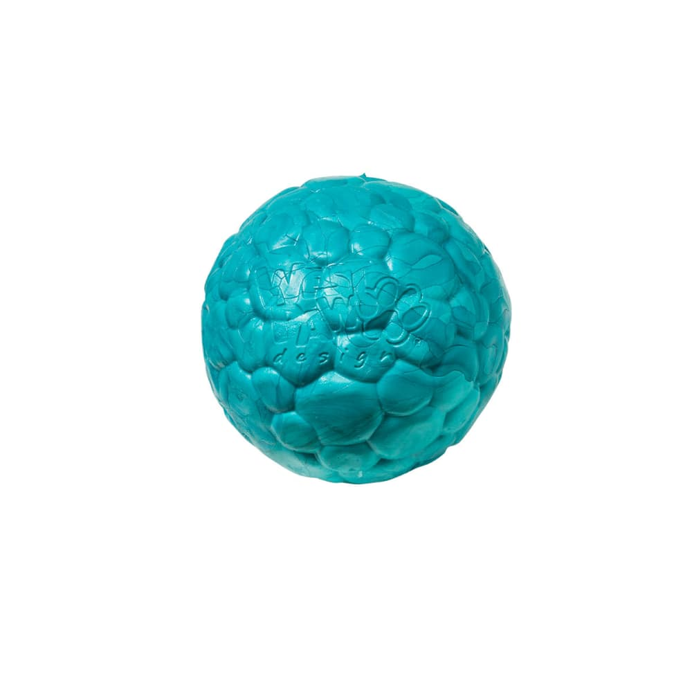 West Paw - Boz Dog Ball Peacock, Small