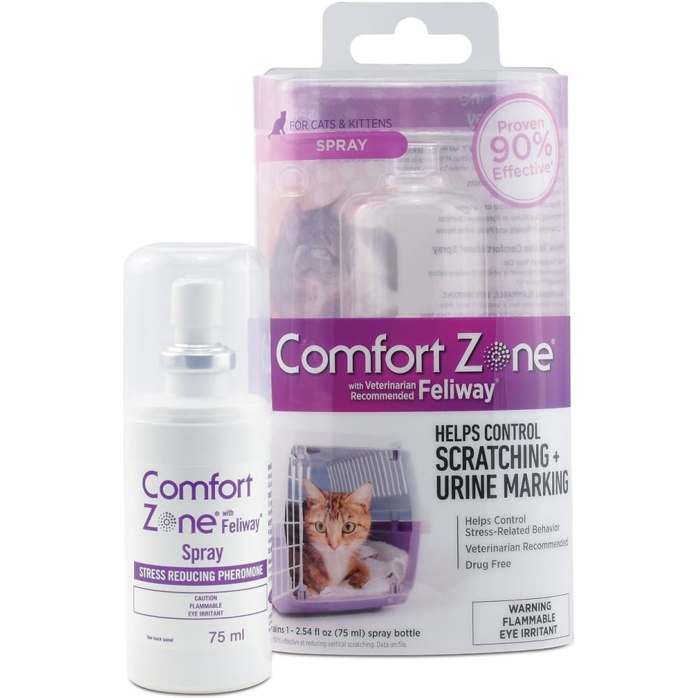 Comfort Zone With Feliway For Cats Spray, 75mL