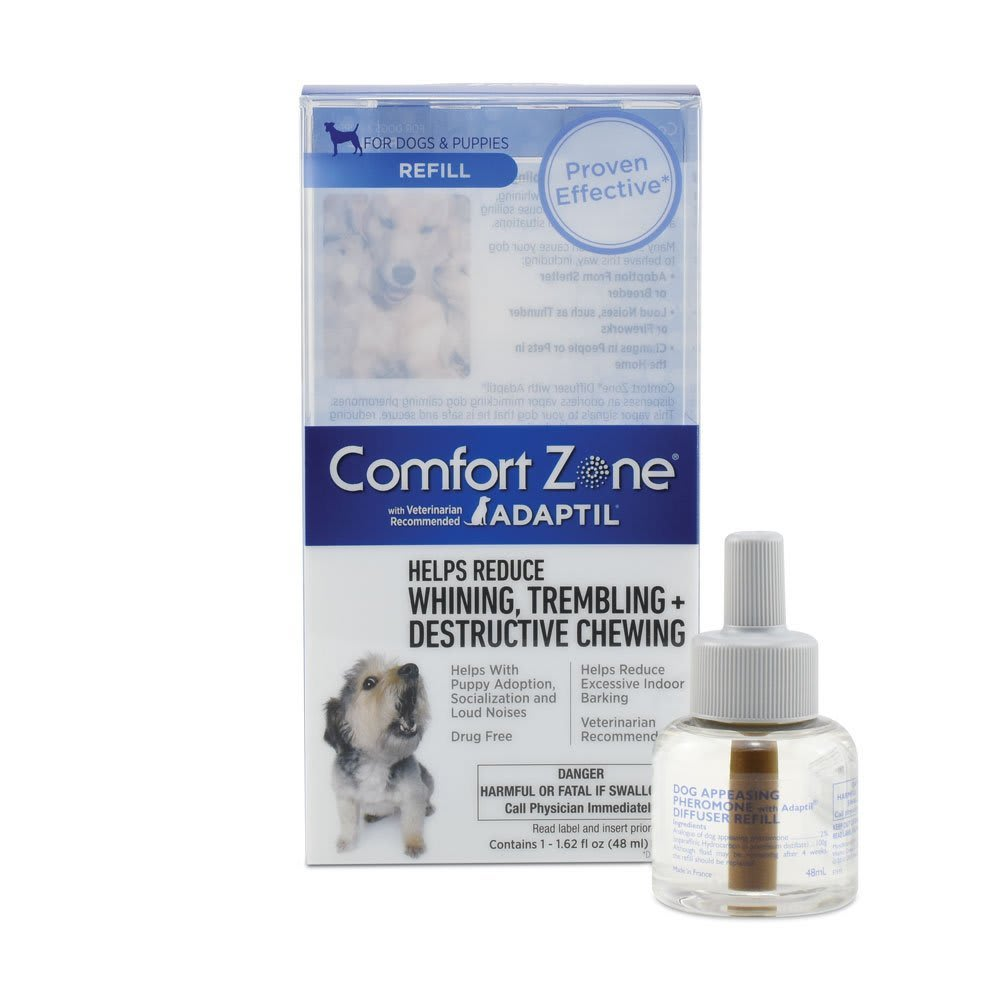 Comfort Zone With Adaptil For Dogs Diffuser Refill, 48mL
