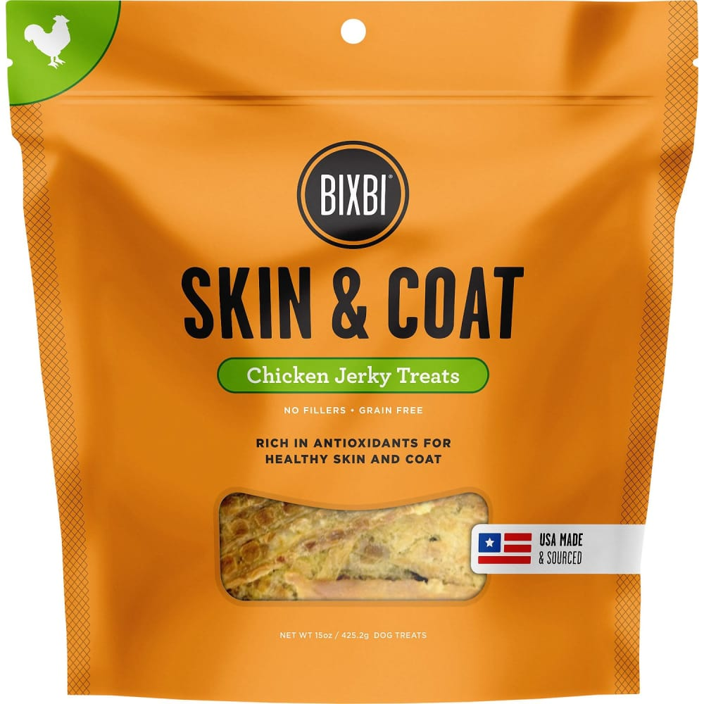 Bixbi - Skin & Coat Chicken Jerky