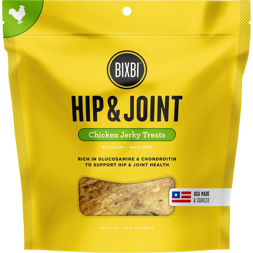 Bixbi - Hip & Joint Chicken Jerky, 5oz