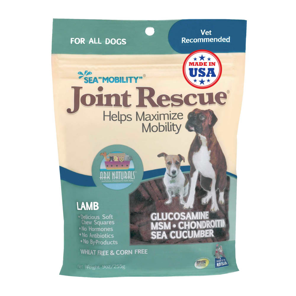 Ark Naturals - Sea Mobility Joint Rescue Lamb Dog Treats, 9oz