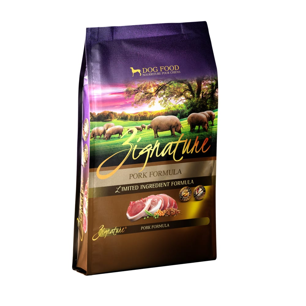 Zignature - Limited Ingredient Pork Formula Grain-Free Dry Dog Food