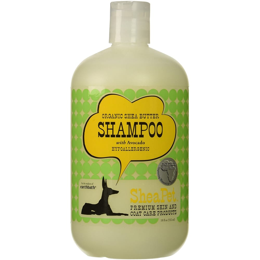 SheaPet - Organic Shea Butter With Avocado Dog Shampoo, 18oz