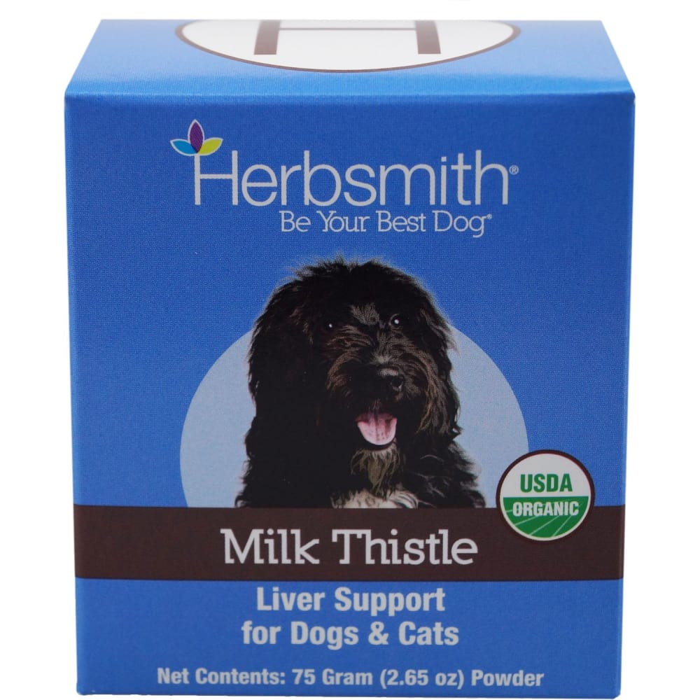 Herbsmith - Milk Thistle Liver Support For Dogs & Cats